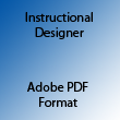Instructional Designer Adobe PDF